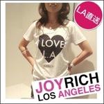 JOY RICH I Love LA シャツ ホワイトM
