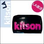 kitson ネオンカラーウォレット/ブラック